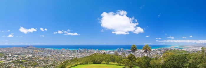 Honolulu, from Round Top by wonderfish