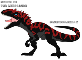 March of the Dinosaurs - day 23 by Absol989