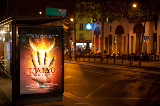 Kalyo Theatrical Poster Street Display by than-than