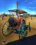 Steampunk Horseless Carriage by PhotosbyRaVen