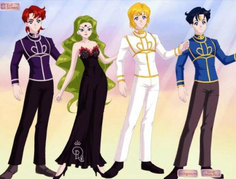 Chibiusa's Half Brothers and Half Sister by Blossom200