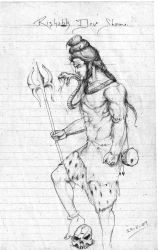 Shiva Sketch by rishabh-devil