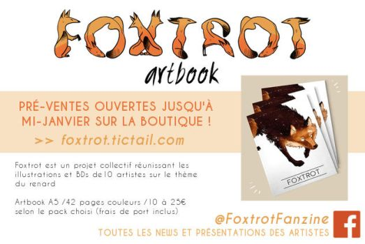 FOXTROT Artbook ! by Mistexpi
