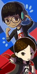 Persona Dance icon by Toramelle