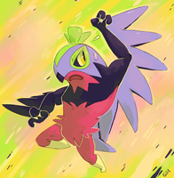 Shiny Luchador by PinkGermy