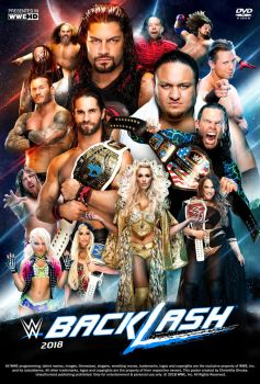 WWE Backlash 2018 Poster by Chirantha