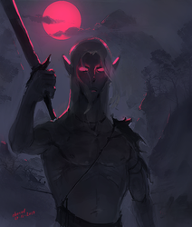 Blood Moon by ehecod