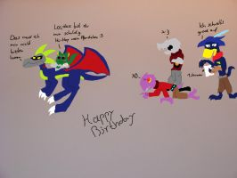 Happy Late Birthday Colored by Toxical-Toon