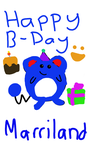 Happy Birthday Marriland by Squirtlefan