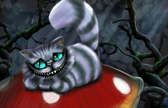 The Cheshire Cat by KevinG-art