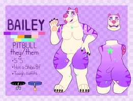 Bailey reference by FloralBeast