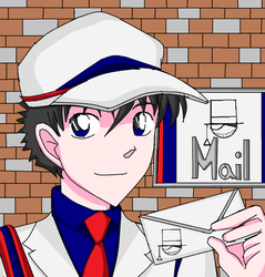 MK - Kaito the Mailman COLOR by mimidan