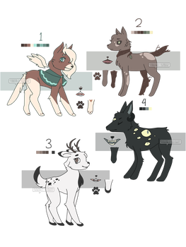 [OPEN] OTA Forest Dog Adopts by whiisper-s