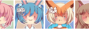 Pokegijinka Bun Icons by WanNyan