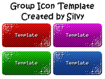 Group Icon Template by Silver-Chocolate