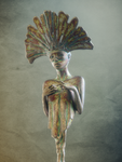 Painted Metal Statue Cinema 4D V-Ray by botshow