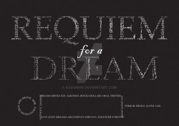 Requiem for a dream - poster by kasumi96