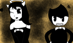 Alice Angel ft Bendy by RichardtheDarkBoy29