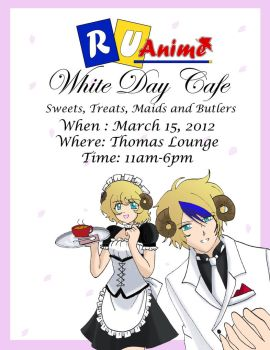 Maid Cafe Poster by KitsxChan