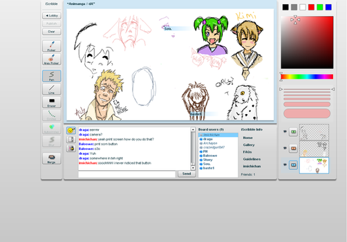 iscribble part 3 by Imichi