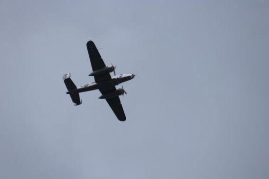 B-25 Flyby Yankee  Warrior by bagera3005