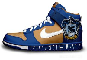 Ravenclaw Nike Dunks by becauseimjay