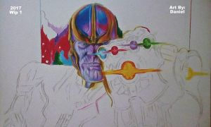 Thanos (Wip 1) by nielopena