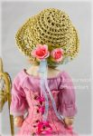 Summer raffia hat by SubcultureDoll