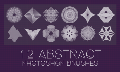 Abstract brushes by Innuend