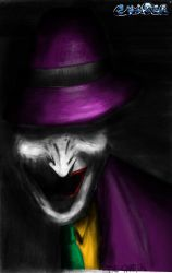 The Joker kolored by The-Chaser