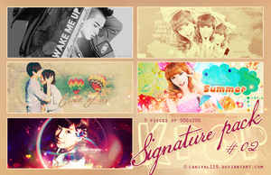 Kpop Sign Pack 02 by Canival119