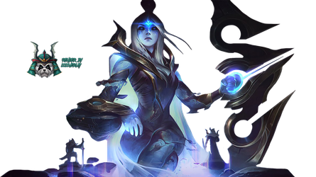 Cosmic Queen Ashe - Render by lol0verlay