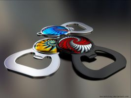 Keychain Openers by VickyM72