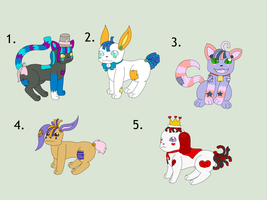 ADOPTS - OPEN! by Amelie-The-Pixie