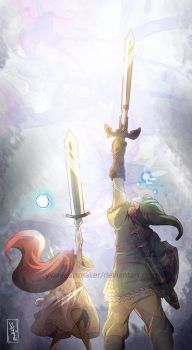 Skyward Swords by YAMsgarden