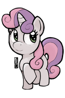 Sweetie Belle by Inkwel-MLP