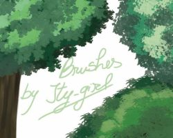 Forest Brushes by Itygirl