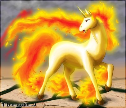 Rapidash by FireTailed