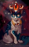 Khoshek (Castle Cats) by Flame-of-inspiration