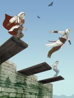 Leap of Faith by doubleleaf