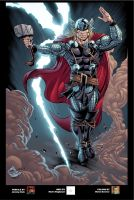 The Mighty Freakin Thor by thejeremydale
