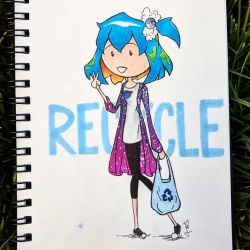 Happy Earth Day! Recycle! by flygirldavies