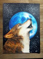 Moon and Stars by KeitiWolf