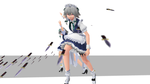 Pmotskin Sakuya HD Render by headstert
