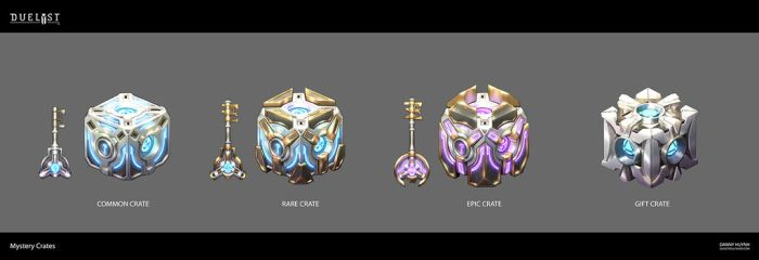 Duelyst: Loot Crates by 152mm