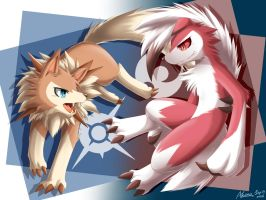 Time Difference Lycanroc by AKamihara
