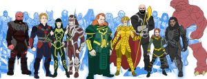 Eternals Marvel Movie Universe Redesigns by Needham-Comics