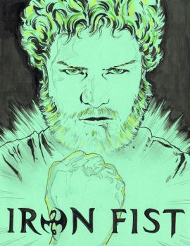 Iron Fist by jasonbaroody
