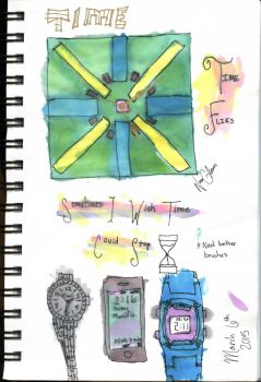 Time by watercolorobsessed