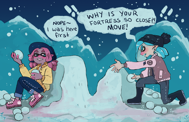 SS - Snowball Fight by tritn